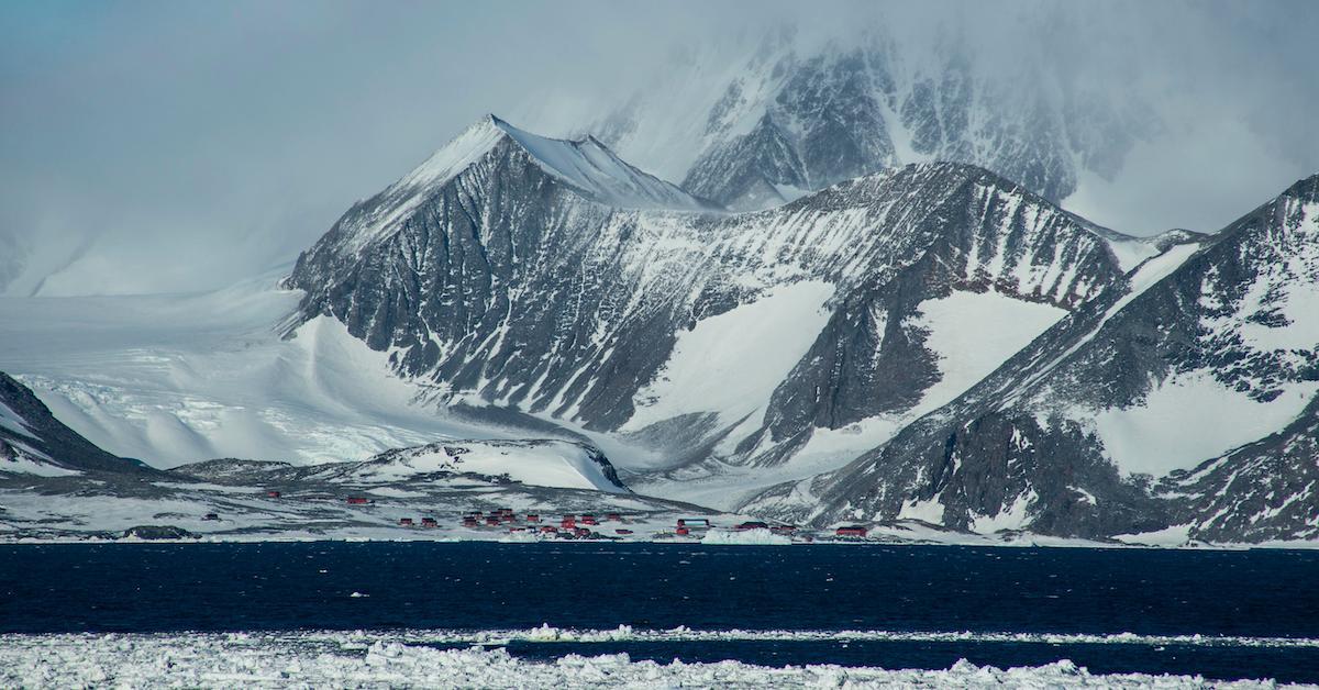 antarctica temperature