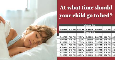 featured sleep chart
