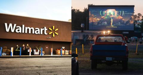 Walmart Is Turning 160 Store Parking Lots Into Drive In Movie Theaters This Summer