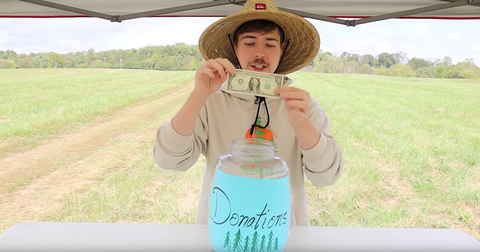 YouTubers of #TeamTrees reach $20 million goal to reforest the Earth