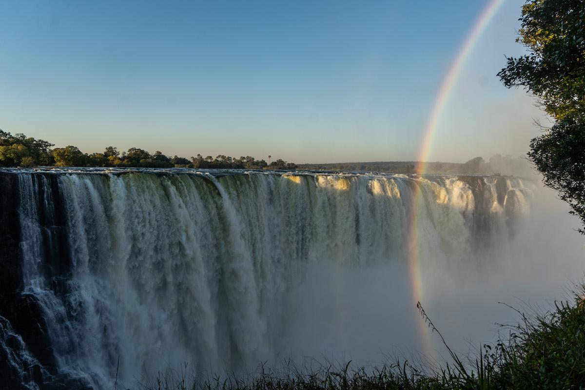 Victoria Falls Dries Up Due To Climate Crisis Fueled Drought