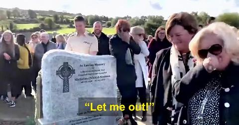 An Irish man pre-recorded a hilarious message for his funeral that had mourners laughing