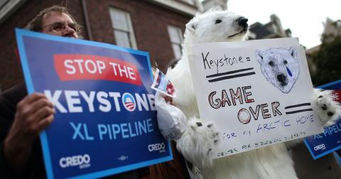 biden canceling keystone xl pipeline
