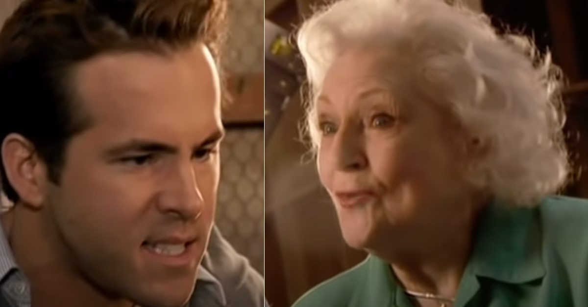 ryan reynolds betty white cover