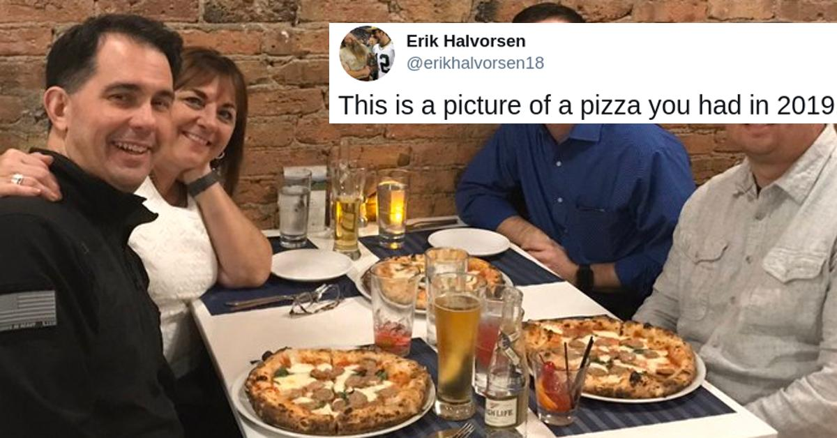 scott walker pizza tweet cover