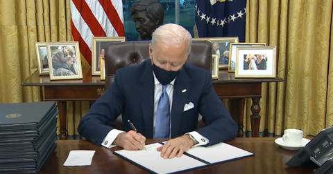 joe biden mask mandate executive order
