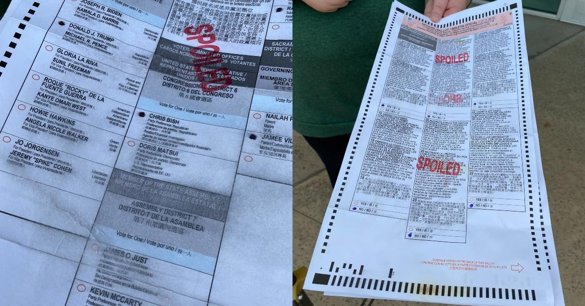 featured spoiled ballots