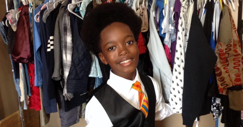 11 Year Old New York City Boy Opens Thrift Store For Low Income Families