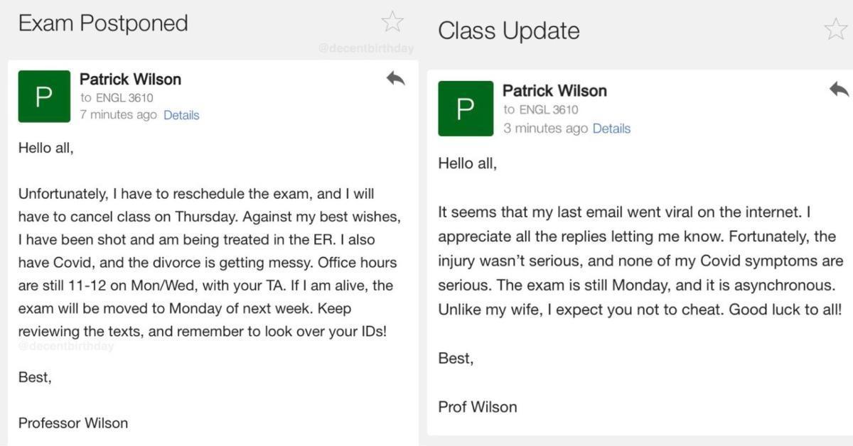 featured professor emails