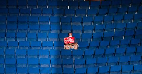 trump rally low turnout